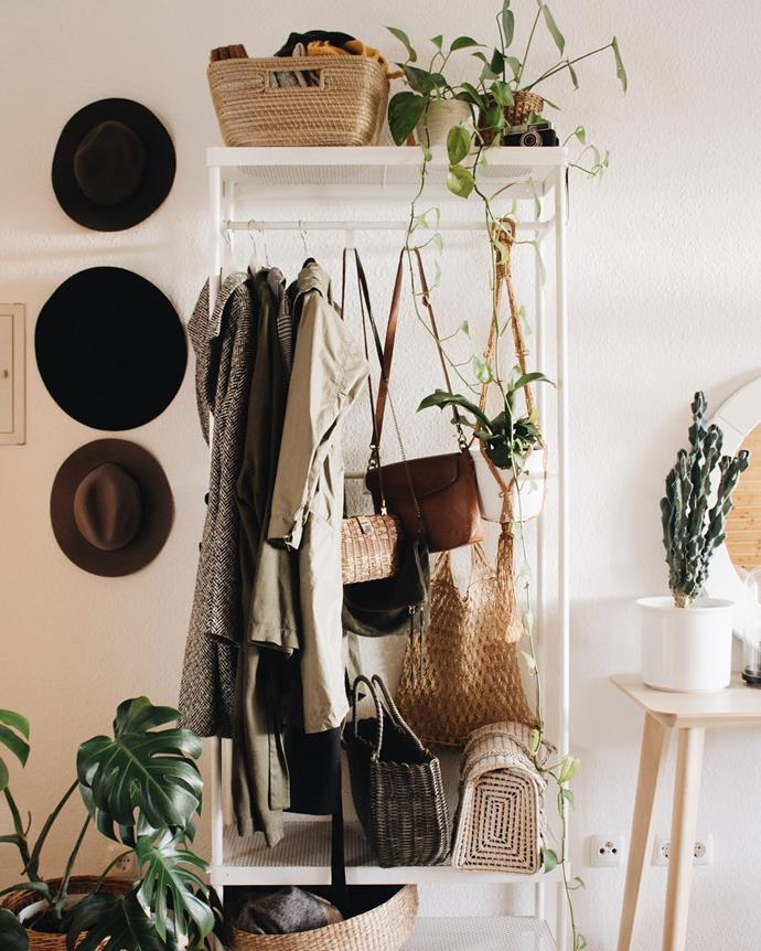 "**Don't forget about storage**<br><br>  We've all been there. No matter how much we cull, there never seems to be enough closet or drawer space to keep things contained.<br><br>  ""Lack of storage is always an issue in the bedroom. Clothes inevitably get scattered on floors or chairs. Always ensure good storage, even if by way of attractive baskets or under bed storage tubs,"" said Green.<br><br>  ""A less cluttered room will enhance your chance of relaxing in the one room that is supposed to be restful.""<br><br>  *Image via [@friederikchen](https://www.instagram.com/friederikchen/