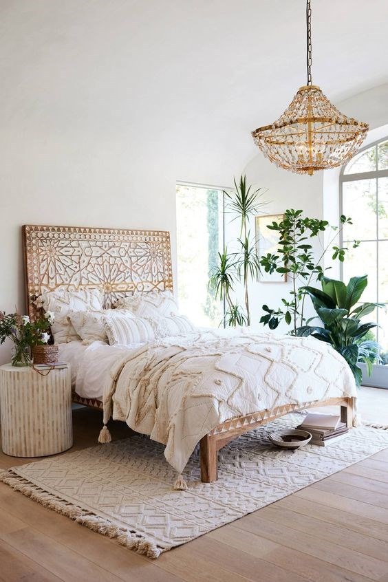 """**Rugs that are too thick or the wrong size**<br><br>  """"Thick rugs atop carpet are my pet hate. They can look very clunky and are, more often than not, tripping hazards. Also rugs that are too small for the space look out of place,"""" explained Green.<br><br>  """"Rugs draw your eye out to the perimetres, so they can work to enlarge a space. If the rugs are too small and the eye is drawn in, the room can lose its sense of space and feel smaller and more claustrophobic.""""<br><br>  The key takeaway? Look for thin profiled rugs in non-contrasting colours to avoid an eyesore.<br><br>  *Image via [@anthropologie](https://www.pinterest.com.au/pin/554294666625375942/