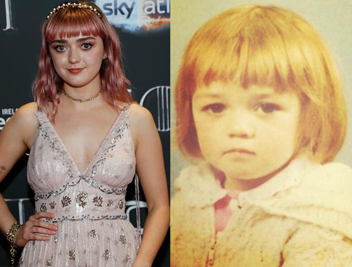 Maisie Williams AKA Arya Stark