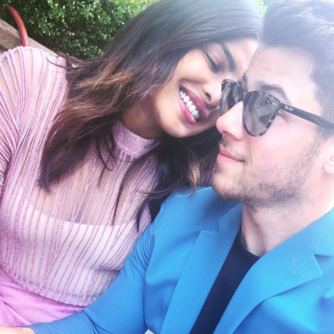 """***Nick Jonas***<br><Br> """"Happy Easter to you and yours! From me and mine."""""""