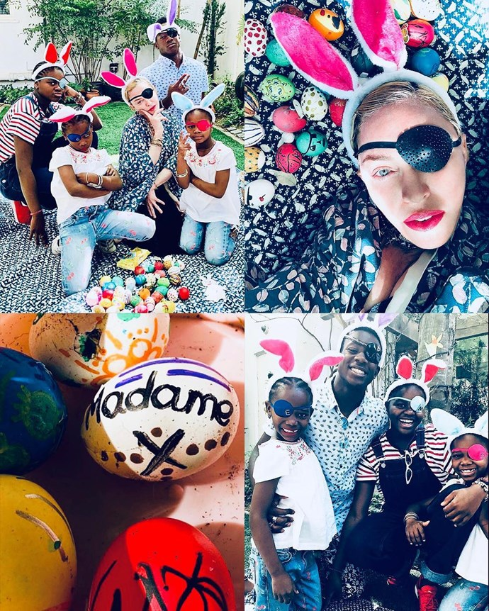 """***Madonna***<br><br> """"Madame ❌ is a Mother.............#easterbunnies 🐰🐰🐰🐰🐰"""""""