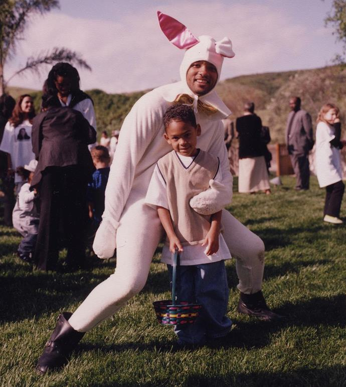 "***Will Smith***<br><br> ""NEVER let your Kids have more Fun than You on Easter!!"""
