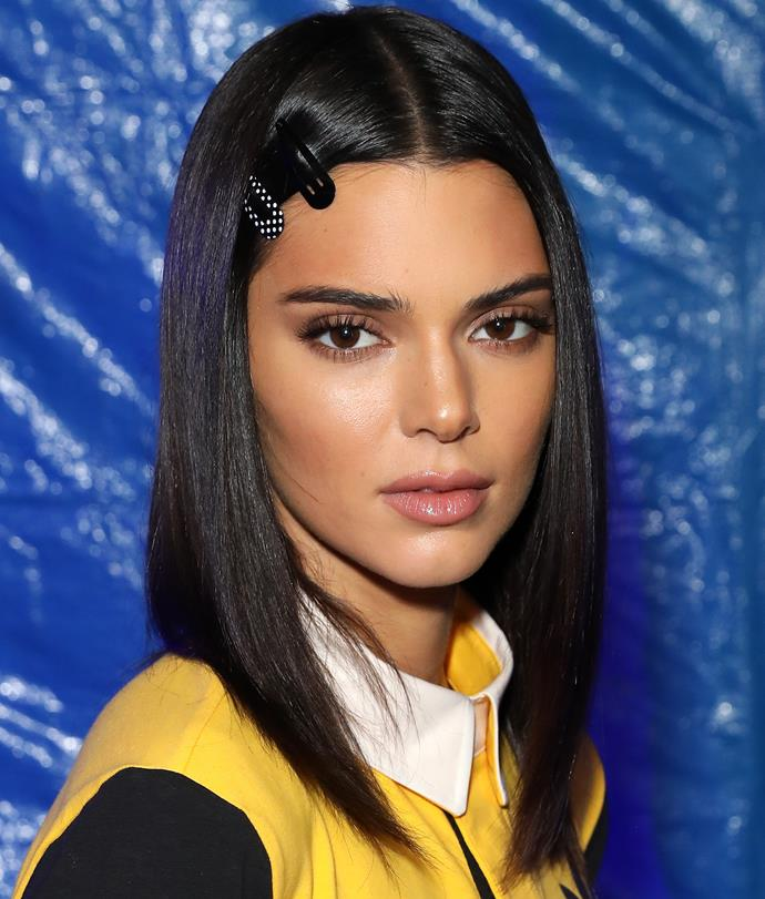 At an adidas event in London on November 15, 2018, with sunkissed skin, neutral eye makeup and a sleek, shoulder-length bob.