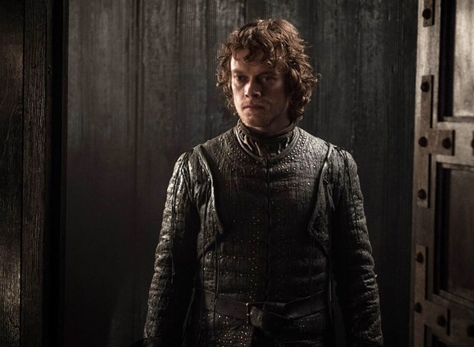 """**Theon Greyjoy** <br><br> If you're surprised by this one, you haven't been paying attention. In order to complete his exquisite seasons-long redemption arc, Theon must heroically die for the family he once betrayed. Given he's already volunteered to be on the front line of the battle with the rest of the Ironborn, we know he will be dead by the end of the episode, if not in the first five minutes. We predict Sansa will be particularly heartbroken ([click here](https://www.elle.com.au/culture/game-of-thrones-sansa-theon-theory-20311 target=""""_blank"""") to find out why)."""