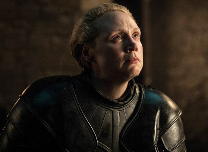 """**Ser Brienne of Tarth** <br><br> You know with a freshly-minted title like that that poor Brienne is doomed. In one of the best scenes of the series so far, she was knighted by Jaime Lannister, cementing her fate. In the [teaser trailer](https://www.elle.com.au/culture/game-of-thrones-crypts-theory-20318 target=""""_blank"""") for episode three, Brienne is seen at the head of the Winterfell arming, yelling """"stand your ground!"""". Expect a death of Hodor-level tragic proportions."""
