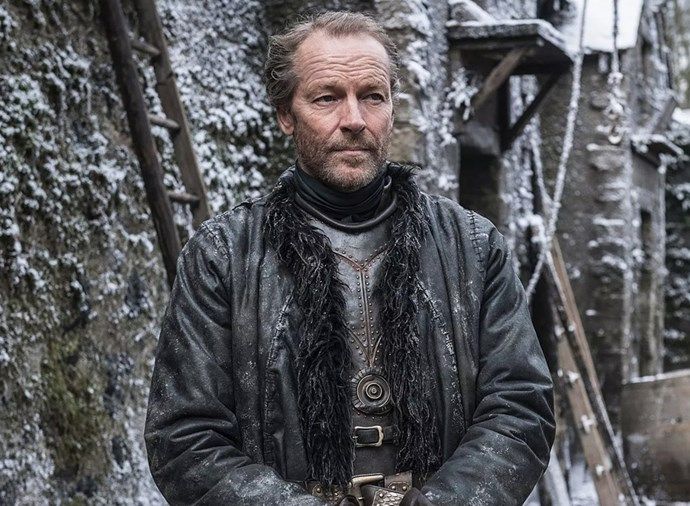 **Ser Jorah Mormont** <br><br> Jorah has been living on borrowed time ever since Samwell saved him from his Greyscale affliction at the Citadel. As a born fighter, he will be more than ready to die in the war to come, particularly on behalf of his beloved Khaleesi. He won't go down without a fight though, particularly with the Tarly family sword, Heartsbane, in his hands.