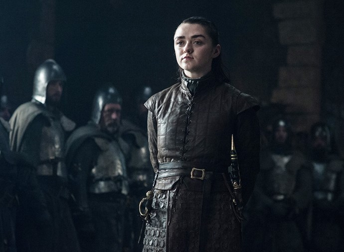 """**Arya Stark** <br><br> A controversial one, but Arya has been hinting at her own death for some time. We've already seen her [running for her life](https://www.harpersbazaar.com.au/culture/arya-stark-game-of-thrones-season-8-18239 target=""""_blank"""") in what appears to be the crypts of Winterfell in a season 8 trailer, and she's said plenty of times that she's seen death and she """"doesn't fear it"""". Add to that the fact she asked Gendry to make her a [custom anti-White Walker weapon](https://www.harpersbazaar.com.au/culture/game-of-thrones-arya-stark-gendry-weapon-18466 target=""""_blank"""") and that she decided to lose her virginity the night before the battle, and all signs point to a heroic death. A secondary prediction: Arya will die to defend her family and their position as leaders of the North, making Sansa Stark all the more determined to protect the Stark legacy. After the battle, her little sister's death will be the motivation Sansa needs to stand her ground against Daenerys and protect the interests of her family and her fellow Northeners."""