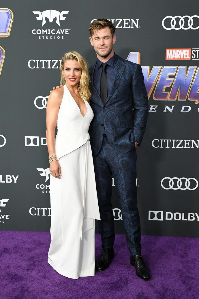 **Elsa Pataky and Chris Hemsworth**