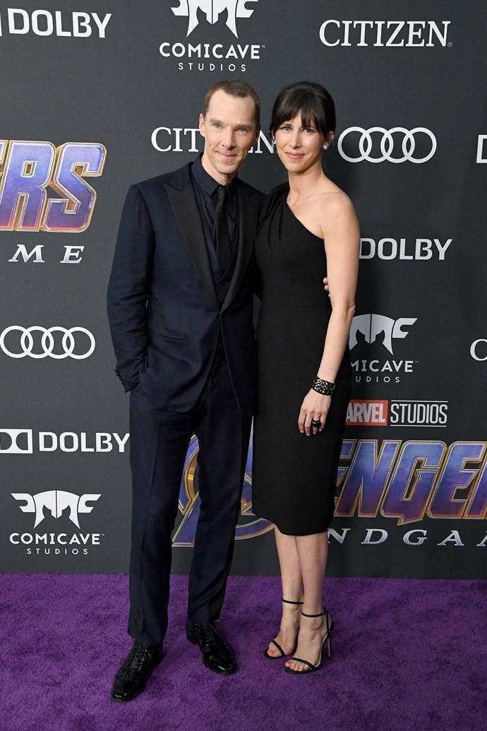 **Benedict Cumberbatch and Sophie Hunter**