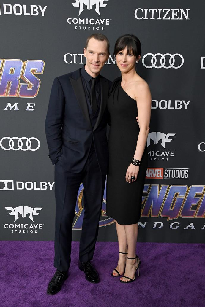 **Benedict Cumberbatch and Sophie Hunter**