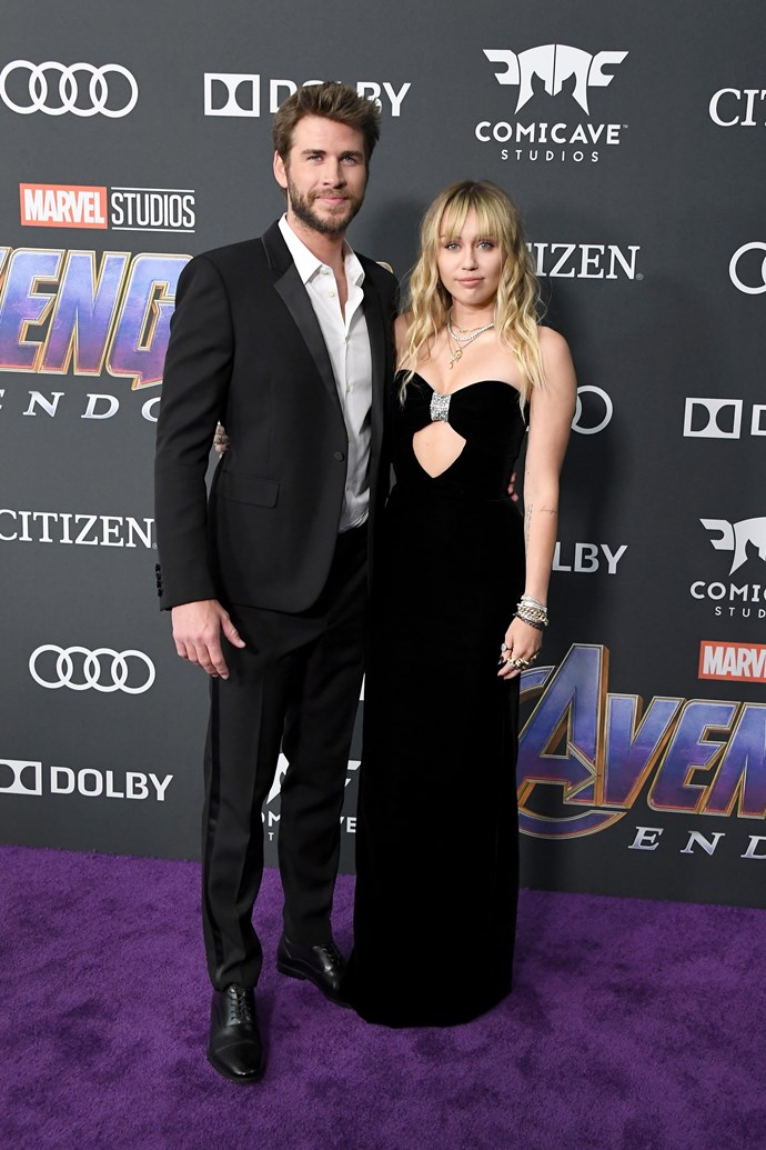 **Liam Hemsworth and Miley Cyrus**