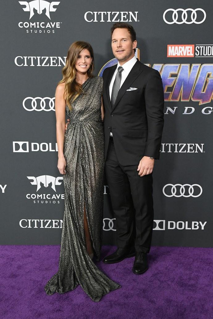 **Chris Pratt and Katherine Schwarznegger**