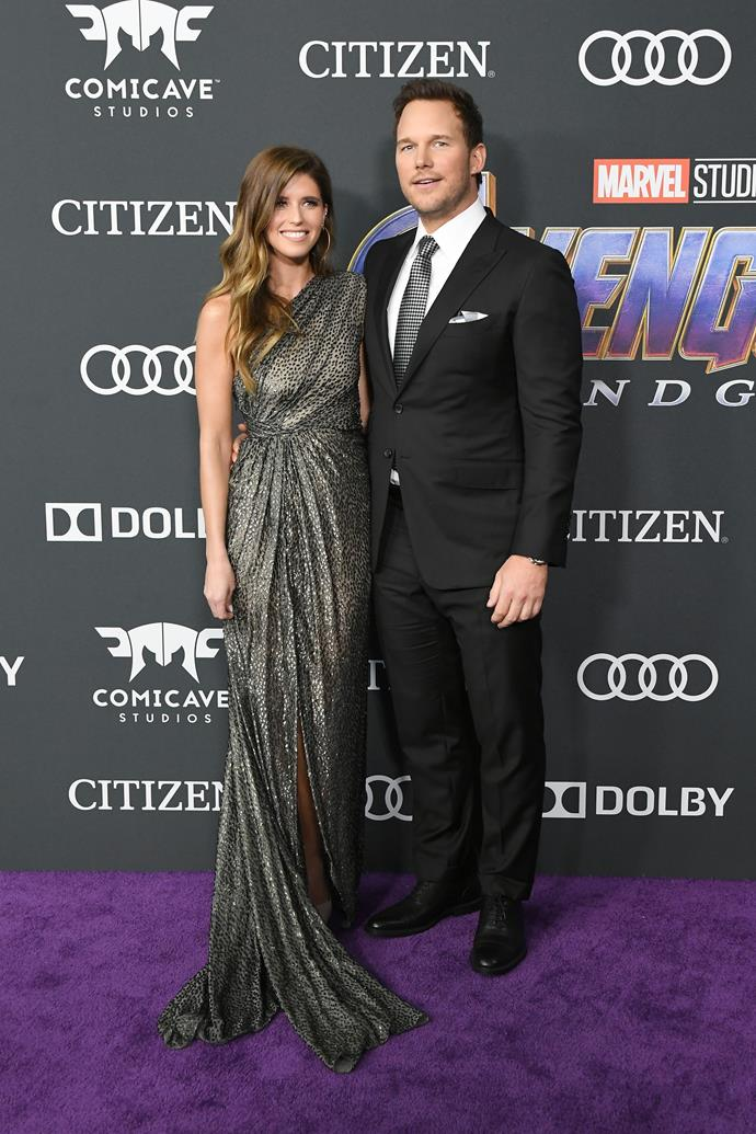 **Chris Pratt and Katherine Schwarznegger**