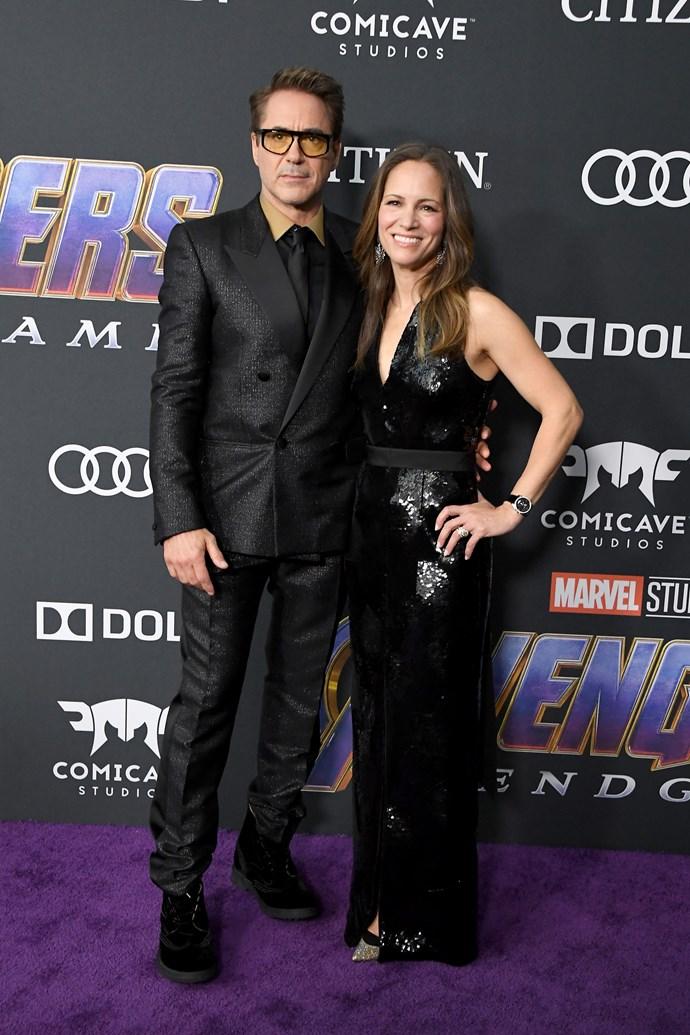 **Robert Downey Jr. and Susan Downey**