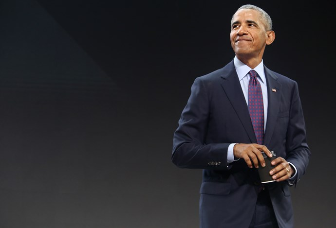 """**Barack Obama**<br><br>  The former POTUS joins the list of celeb fans that can't get enough of *Game Of Thrones*, and he's a very special one at that. Show co-creators David Benioff and D.B. Weiss have previously [revealed](https://www.buzzfeednews.com/article/davidmack/obama-gets-got