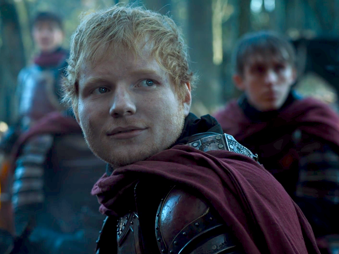 **Ed Sheeran**<br><br>  Forget cosplays—Ed Sheeran indulged in the real thing when he made a cameo as a young Lannister soldier on the season 7 premiere of *Game Of Thrones*. He even puts his pipes to good use and sang a tune, the lyrics of which came straight from author George R. R. Martin's best-selling book series.
