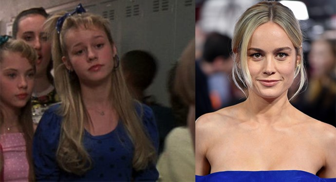 One of the Six Chicks AKA Brie Larson (we bet you didn't spot this cameo back in the day!).