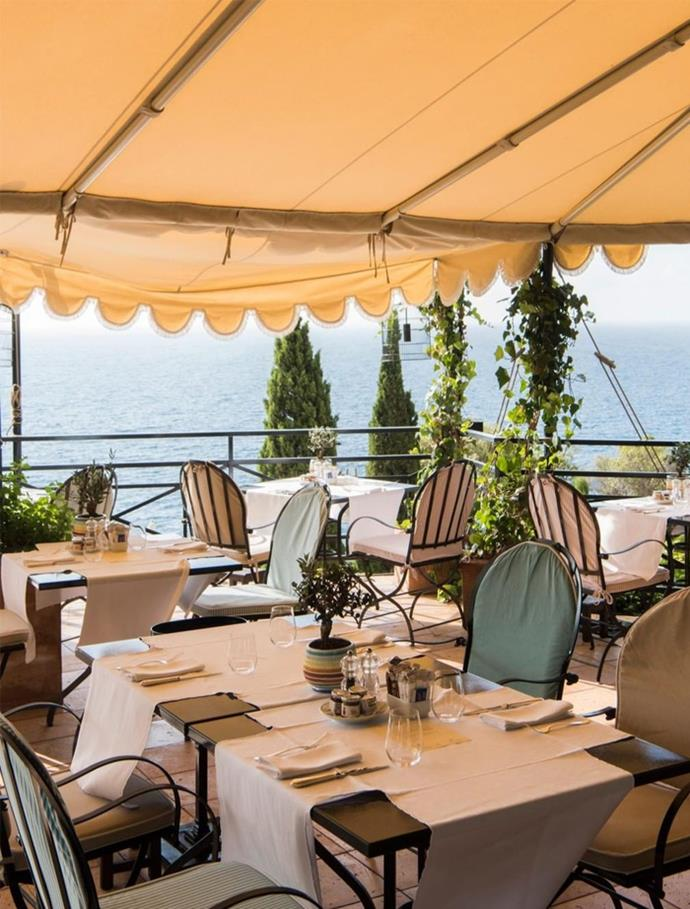"**BEST HONEYMOON RESORT** <br><br> *Il Pellicano, Porto Ercole, Italy* <br><br> ""The history of the hotel sets the tone for this romantic hotel hideaway on the Tuscan coast. There is a modern spirit paired with an old school Italian polish. It sits cliff-side with a glittering pristine ocean to swim in and also a two Michelin star restaurant. The food is Tuscan, simple and delicious. Jürgen Teller has photographed a book on the hotel."""