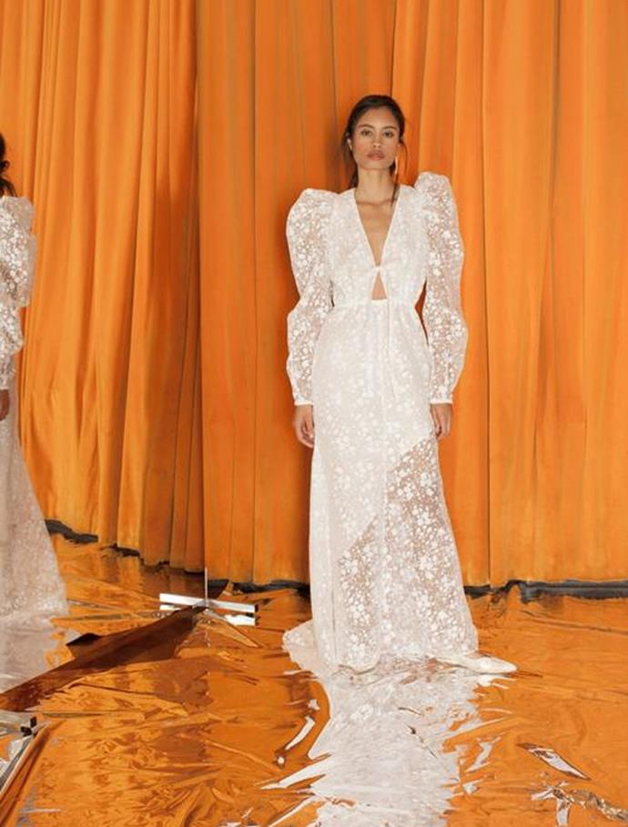 "**BEST NEW BRIDAL TALENT** <br><br> *Rosie Assoulin* <br><br> ""Modern, playful, romantic—for the fashion forward bride. Rosie Assoulin creates gowns that blur the line between fashion and bridal. The dresses have an ease to them."""