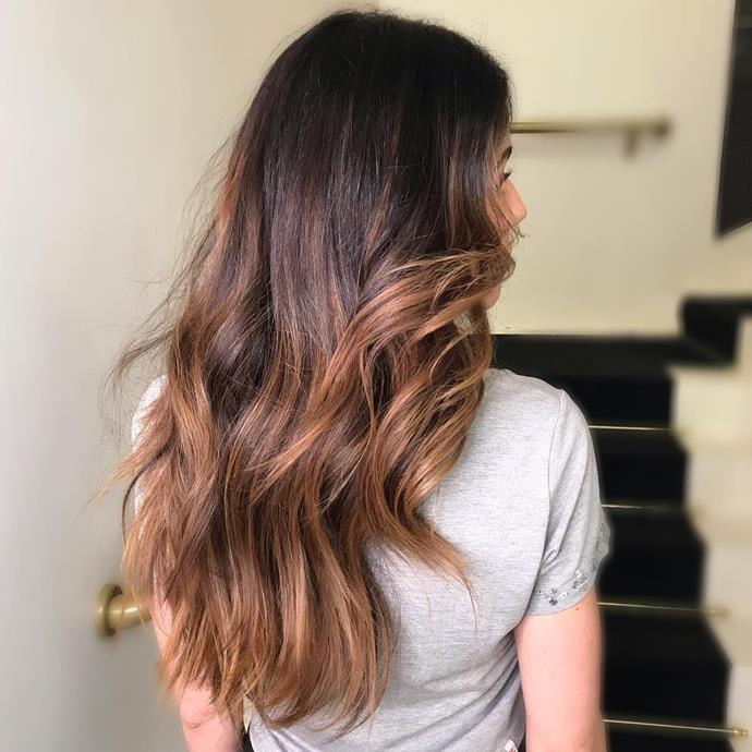 "***Illuminated Brunette***<br><br> Want to look like you're standing out in the sun at all times? Of course you do. Hairstylist [João Bosco](https://www.refinery29.com/en-us/brazil-hair-trend-illuminated-brunette|target=""_blank""