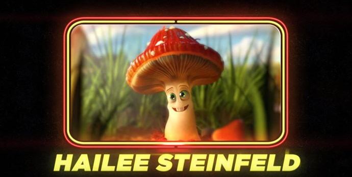 Hailee Steinfeld as a 'common fungus'