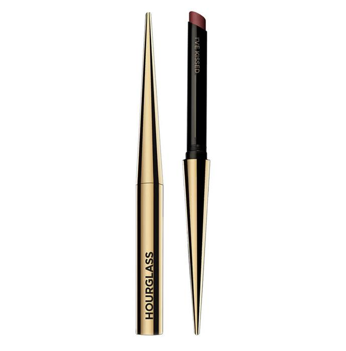 "Lipstick by Hourglass, $55 at [Mecca](https://www.mecca.com.au/hourglass/confession-ultra-slim-high-intensity-refillable-lipstick/V-028380.html|target=""_blank""