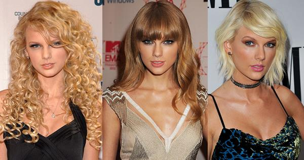 Taylor Swift S Before After Evolution In Pictures Elle Australia