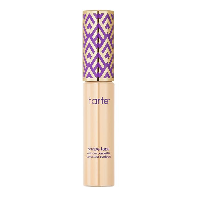 """**Shape Tape Contour Concealer by Tarte, $37 at [Sephora](https://www.sephora.com.au/products/tarte-shape-tape-contour-concealer/v/8b-porcelain-beige target=""""_blank"""")**"""