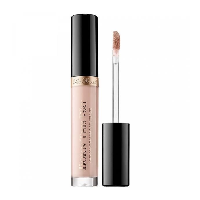"**Born This Way Concealer by Too Faced, $43 at [MECCA](https://www.mecca.com.au/too-faced/born-this-way-concealer/V-024332.html|target=""_blank""