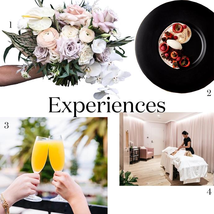 """***Experiences***<br><br> If you prefer to give experiences rather than gifts, we've got you covered.<br><br> 1. A flower arranging class, for the hands-on type. Two hour evening, $120 PP at [Pearsons School of Floristry](https://pearsonsschool.com.au/short-courses