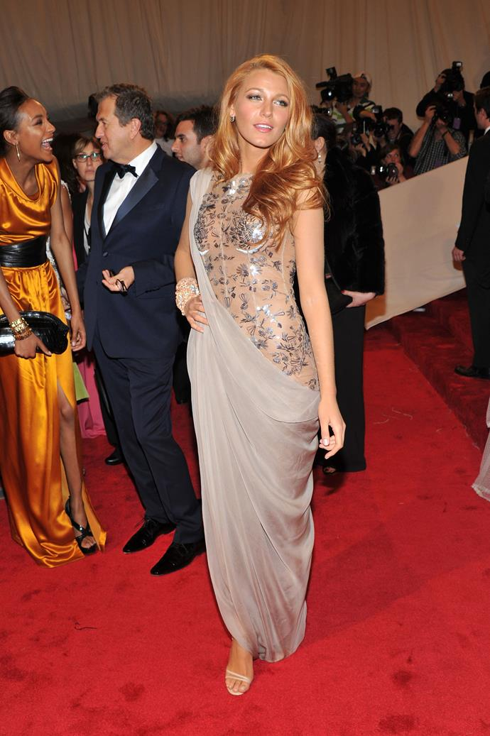 ***2011***<br><br> 'Alexander McQueen: Savage Beauty'<br><br> Blake Lively