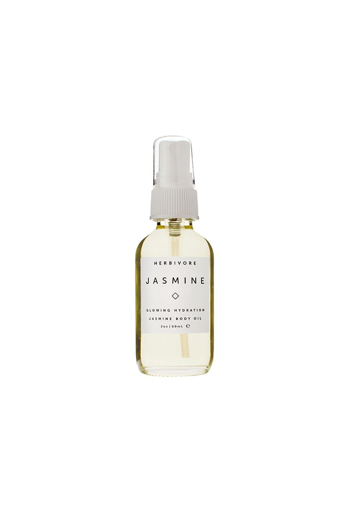 """**Best for relaxation**<br> *Jasmine Body Oil by Herbivore Botanicals, for approximately $40 at [Revolve.com](https://www.revolveclothing.com.au/r/DisplayProduct.jsp?aliasURL=herbivore-botanicals-jasmine-body-oil-2-oz%2Fdp%2FHRBR-WU19&d=F&countrycode=AU&gclid=EAIaIQobChMIzd3hw4aG4gIVVxiPCh1-RQeoEAQYByABEgLdG_D_BwE&product=HRBR-WU19&product=HRBR-WU19 target=""""_blank"""" rel=""""nofollow"""")* <br> The perfect essential oil for every nine-to-fiver, jasmine is more than just a beautiful citrus fragrance, reducing stress, heightening alertness and improving sleep quality. Herbivore Botanicals blend is also perfect for all skin types."""