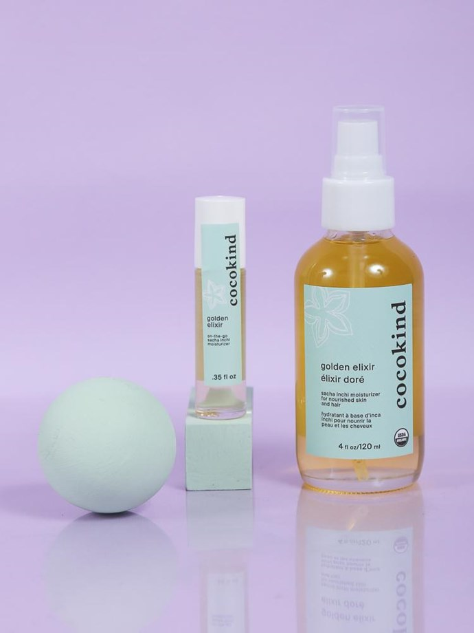 """**Best budget buy**<br> *Golden Elixir by Cocokind, for $25 at [cocokind.com](https://www.cocokind.com/products/golden-elixir target=""""_blank"""" rel=""""nofollow"""")* <br> The perfect option for those with acne prone skin, the golden elixir works as a moisturiser and rejuvenator for the body and face, with a beautiful sweet orange and geranium scent."""