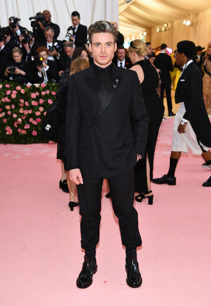 Richard Madden in Dior.