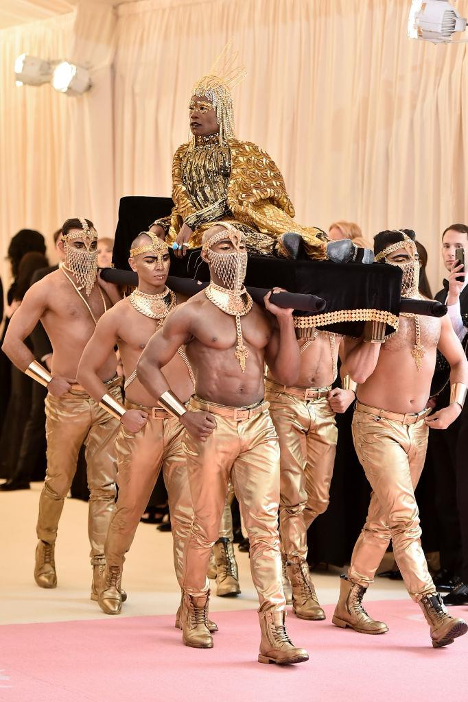 Billy Porter in The Blonds.