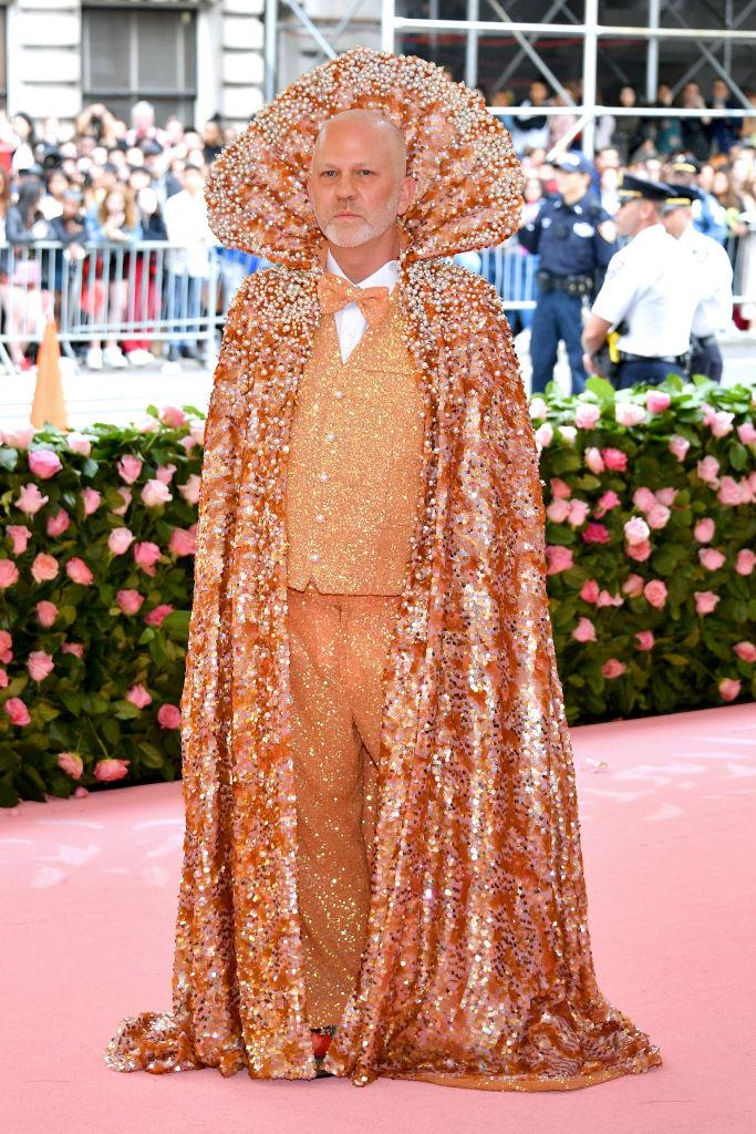 Ryan Murphy in Christian Siriano.