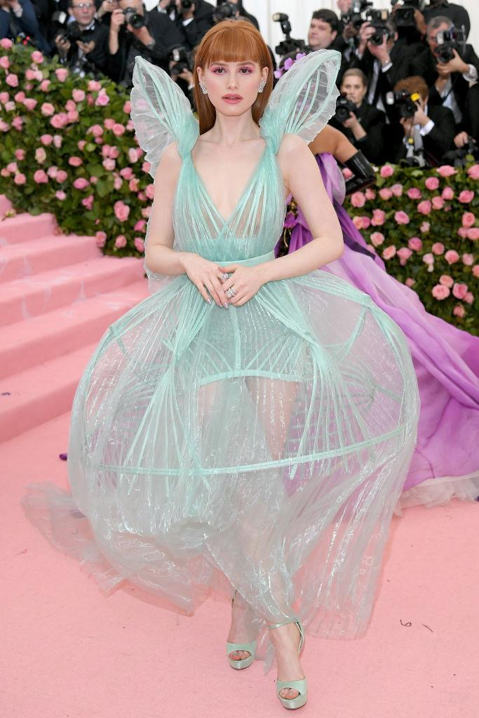 Madelaine Petsch in Jean Paul Gaultier.