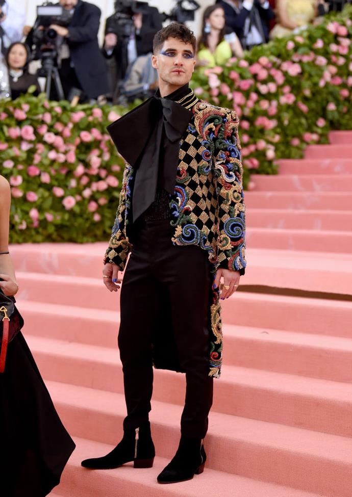Darren Criss in Balmain.