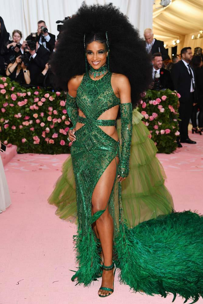 Ciara in Peter Dundas.