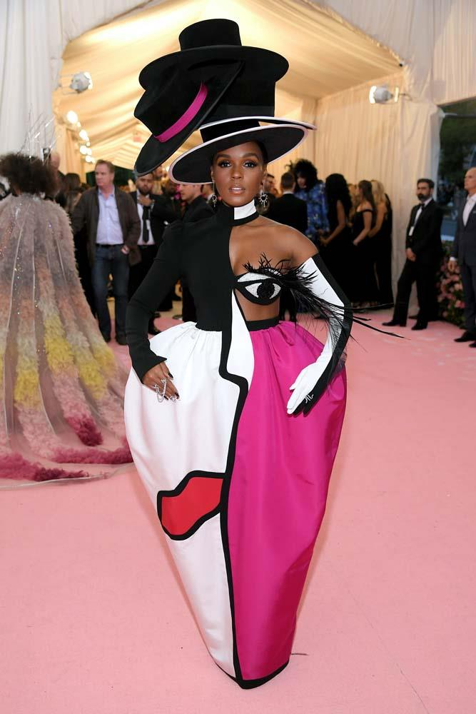 Janelle Monae in Christian Siriano.