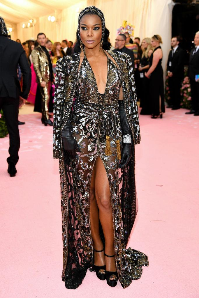 Gabrielle Union in Peter Dundas.