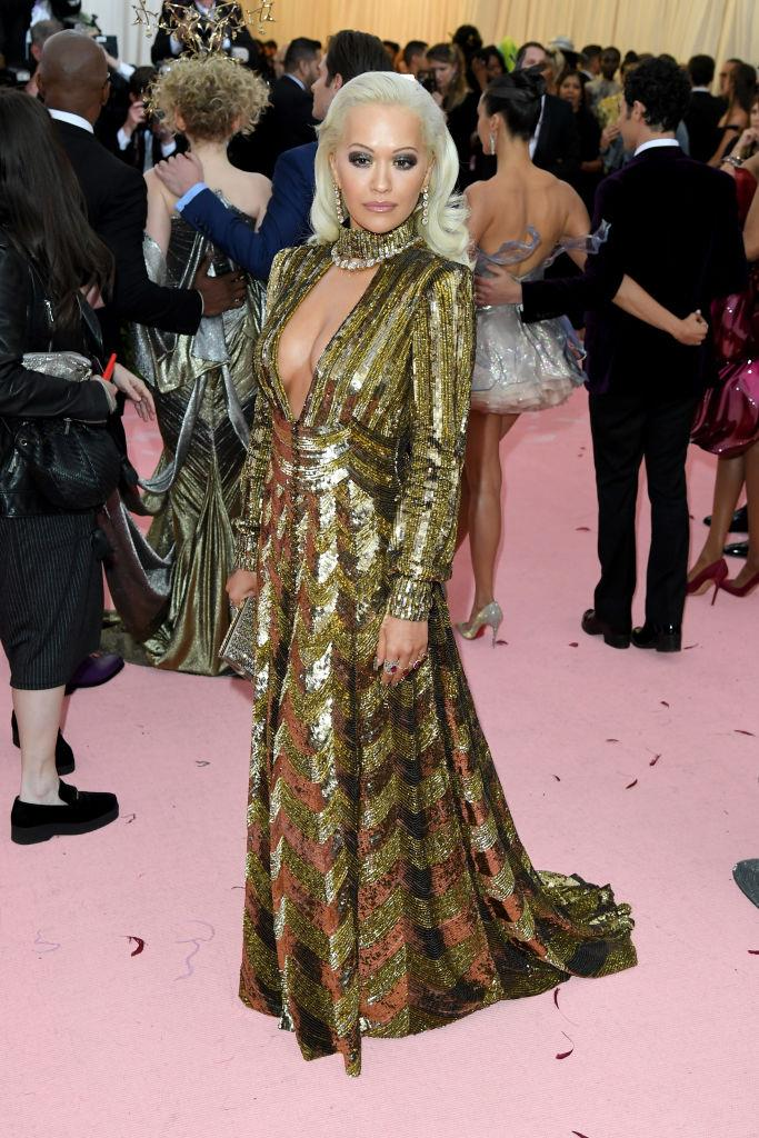 Rita Ora in Marc Jacobs.
