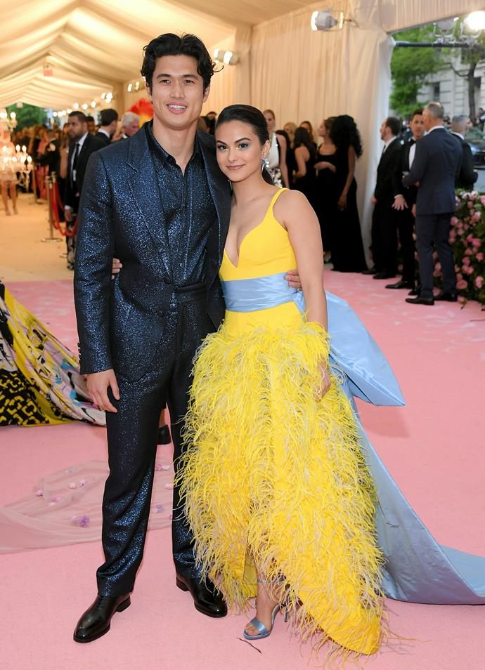 Charles Melton and Camila Mendes