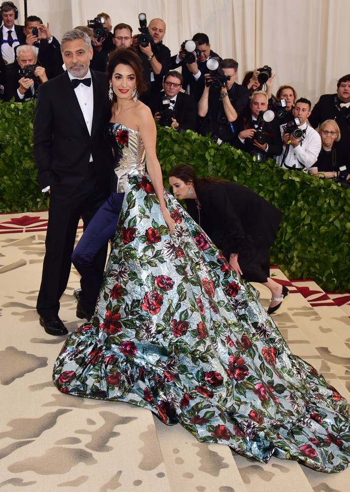 """**George and Amal Clooney**<br><br>  Although the [chic couple](https://www.elle.com.au/fashion/met-gala-2019-couples-cutest-20418 target=""""_blank"""") co-hosted the Met Gala in 2018, they didn't make an appearance on the carpet this year."""