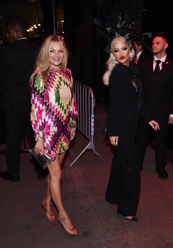 **Kate Moss and Rita Ora**