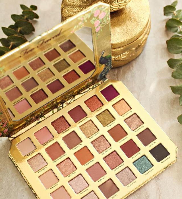 **TOO FACED NATURAL LUST EYESHADOW PALETTE** <br><br> For only $86, you can have 30 shades of eye shadow at your disposal thanks to cult beauty brand Too Faced's latest drop, which features a host of never-before-seen shades centred on soft neutrals, smoky tones and demure pops of colour. Prepare for it to become your go-to. <br><br> **Release date:** June 6, 2019 at Mecca Maxima.