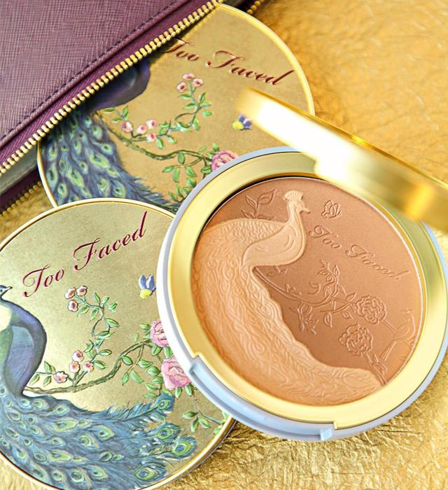 **TOO FACED NATURAL LUST SATIN DUAL-TONE BRONZER** <br><br> Coconut scented and the perfect shade of bronze, this oversized pan is the ideal way to maintain your summer glow even in the cooler months. Priced at $49, it features two shades that can be used separately to highlight and define, or together to create the perfect balanced shade.  <br><br> **Release date:** June 6, 2019 at Mecca Maxima.