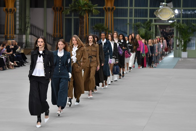 Chanel Cruise '20 Image: Getty