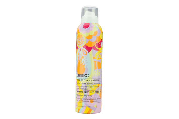 "**Perk Up Dry Shampoo by Amika, $29.95 at [RY](https://www.ry.com.au/amika-perk-up-dry-shampoo-232ml/11294279.html|target=""_blank"")** <br><br> Unlike most dry shampoos that use talc, the Amika Perk Me Up Dry Shampoo uses only natural rice starch to absorb oil. It's a lightweight formula that creates texture and volume for a quick and flawless touch-up."