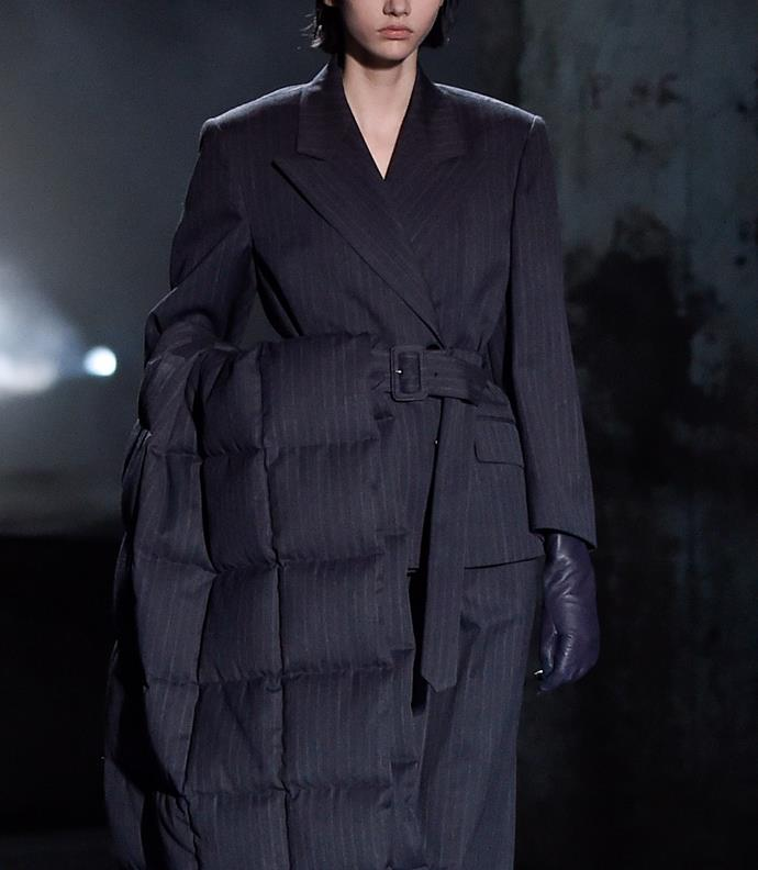 """**The Luxe Leather Glove**<br><br>  """"You can't go wrong with a supple leather glove. Dries Van Noten paired their sleek gloves against boxy, tailored shapes for contrast,"""" said Wong."""